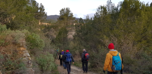 64a Caminada Riudecanyes - Duesaigues - Castell d'Escornalbou - Riudecanyes - 13.01.19